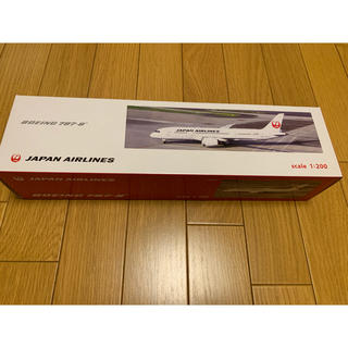 ジャル(ニホンコウクウ)(JAL(日本航空))のJALプラモデル(Boeing787-8)(模型/プラモデル)