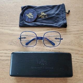 カレンウォーカー(KAREN WALKER)のkaren walker  スクエア 眼鏡 サングラス(サングラス/メガネ)