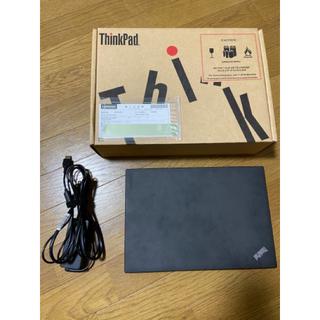 レノボ(Lenovo)の美品 ThinkPad X260 i5-6300U メモリ8GB 500GBHD(ノートPC)