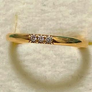 ティファニー(Tiffany & Co.)の新作tiffanyクラッシックバンドリングk18 3Pダイヤ 8号(リング(指輪))