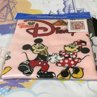 ディズニー(Disney)のチームディズニー ウォッシュタオル ディズニーリゾート(キャラクターグッズ)