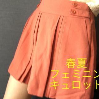 エニィスィス(anySiS)の【美品】any sis☆スカート風キュロット ショートパンツ(キュロット)