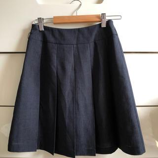プーラフリーム(pour la frime)のプリーツスカート(ひざ丈スカート)