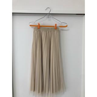 アンティックラグ(antic rag)のチュールスカート(ロングスカート)