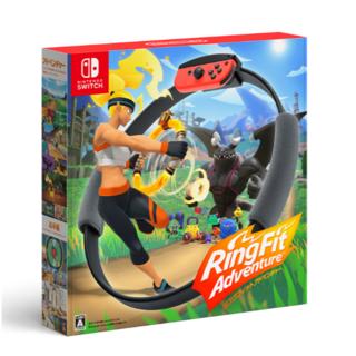 ニンテンドースイッチ(Nintendo Switch)の【新品】リングフィットアドベンチャー(家庭用ゲームソフト)