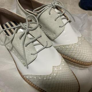 トゥモローランド(TOMORROWLAND)のパイソン 靴 レディース イタリアセレクトショップ(ローファー/革靴)