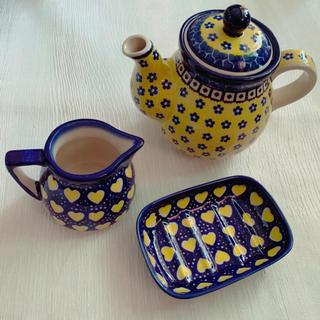 ザラホーム(ZARA HOME)のマヌファクトゥラ社 ポーランド陶器 ポーリッシュポタリー ティーセット(食器)