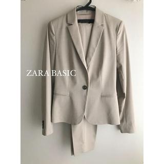ザラ(ZARA)のZARA BASIC パンツスーツ セットアップ XS(スーツ)