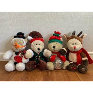 スターバックスコーヒー(Starbucks Coffee)の【sale!!】 スタバ クリスマス ベアリスタ(1999,2001〜2003)(ぬいぐるみ)