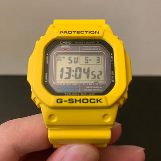 ジーショック(G-SHOCK)のCASIO G-SHOCK GW-M5600A イエロー(腕時計(デジタル))