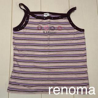 レノマ(RENOMA)のrenoma 綿100% タンクトップ 子供服 キッズ服 150cm(Tシャツ/カットソー)