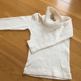 アニエスベー(agnes b.)のアニエス 男女兼用 綿タートルネック 100〜110(Tシャツ/カットソー)