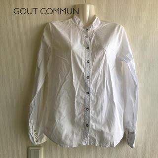 グーコミューン(GOUT COMMUN)のGOUT COMMUN  スタンドカラーブラウス(シャツ/ブラウス(長袖/七分))
