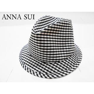 アナスイ(ANNA SUI)のANNA SUI☆ 中折れハット☆帽子☆ HAT☆アナスイ☆美品(ハット)
