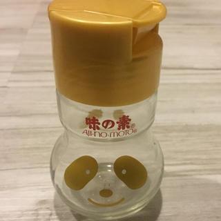 アジノモト(味の素)の限定品 ゴールド アジパンダ 空き瓶 味の素(調味料)