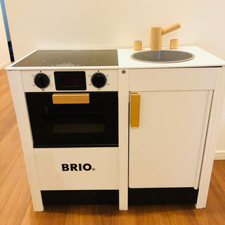ブリオ(BRIO)の☆ ブリオ BRIO キッチンストーブ & シンク 台所 システム (知育玩具)