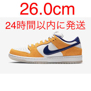 ナイキ(NIKE)のNIKE SB DUNK LOW PRO LASER ORANGE 26.0cm(スニーカー)