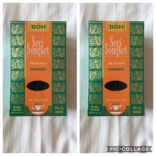 ボー(BOH)のBOH TEA☆ボーティー マンゴー2箱(茶)