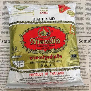 【タイで購入‼︎】タイ有名ブランド☆タイティー バニラフレーバー ゴールドラベル(茶)