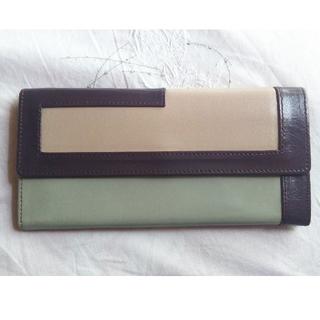 ハマノヒカクコウゲイ(濱野皮革工藝/HAMANO)の濱野完売色特価🖤スマートロングウォレット(財布)