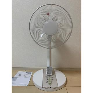 パナソニック(Panasonic)のPanasonic 扇風機 30インチ リビング扇 F-CS324-Cリモコン付(扇風機)