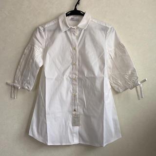 レッドヴァレンティノ(RED VALENTINO)の新品☆ RED VALENTINO 白シャツ 40(シャツ/ブラウス(長袖/七分))