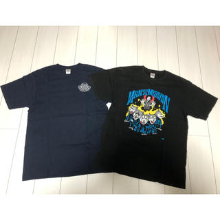 マンウィズアミッション(MAN WITH A MISSION)のMAN WITH A MISSION Tシャツ2枚セット XL 今から特価販売(Tシャツ/カットソー(半袖/袖なし))