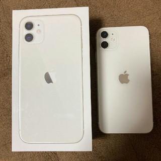 アイフォーン(iPhone)のiPhone11 本体 128GB simフリー(スマートフォン本体)