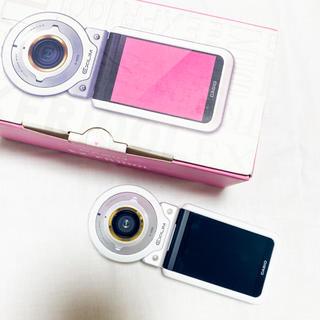 カシオ(CASIO)のCASIO EXILIM EX-FR100L ホワイト(コンパクトデジタルカメラ)