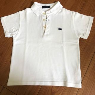 バーバリー(BURBERRY)のBurberry 白色ポロシャツ 4T(その他)