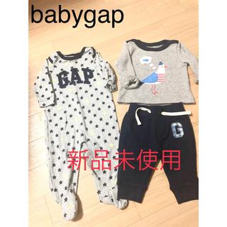 ベビーギャップ(babyGAP)のbabygap ロンパース 70 トレーナー パンツ bebe キムラタン(ロンパース)