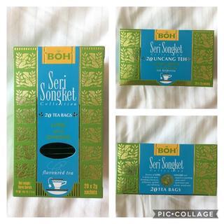 ボー(BOH)のBOH TEA☆ボーティー ライム&ジンジャー3箱(茶)