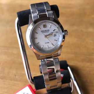 スイスミリタリー(SWISS MILITARY)の新品✨スイスミリタリー 腕時計 レディース ML-102 クォーツ シルバー(腕時計)