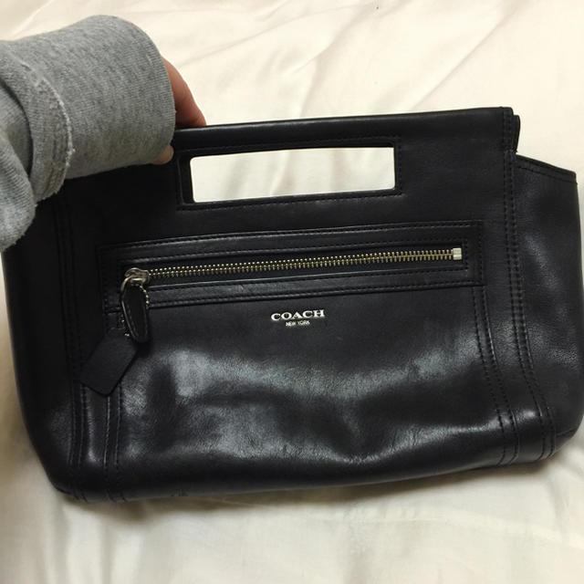 COACH(コーチ)のcoachの黒のハンドバッグです❤️ レディースのバッグ(ハンドバッグ)の商品写真