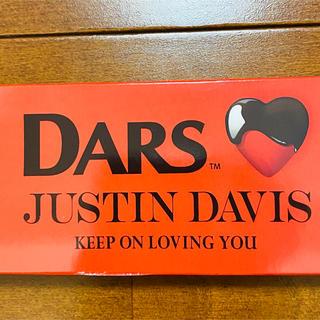 ジャスティンデイビス(Justin Davis)の値下げ!JUSTIN DAVIS バレンタイン オリジナルチョコ 未開封品(その他)