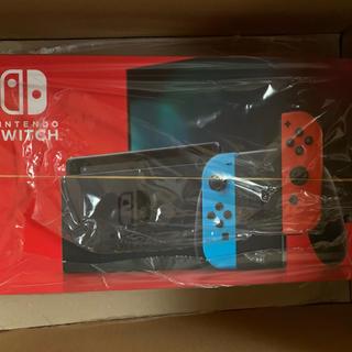 ニンテンドースイッチ(Nintendo Switch)の【送料無料】Switch ネオン 本体(家庭用ゲーム機本体)
