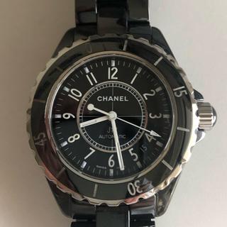 シャネル(CHANEL)のCHANEL J12 H0685 38mm オールセラミック (腕時計(アナログ))