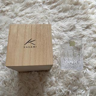 イッタラ(iittala)のカガミクリスタル ロックグラス(グラス/カップ)