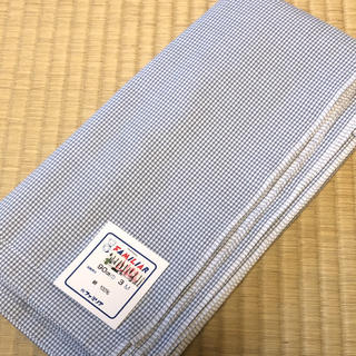 ファミリア(familiar)のファミリア familiar  ギンガムチェック 90㎝巾3M(生地/糸)