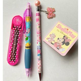 ディズニー(Disney)のシャーペン芯 ディズニーランドのシャーペンリボンのジャラジャラシャーペン 子供(オフィス用品一般)