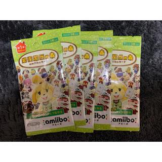 ニンテンドースイッチ(Nintendo Switch)のどうぶつの森 amiiboカード 第1弾 5パックセット(その他)