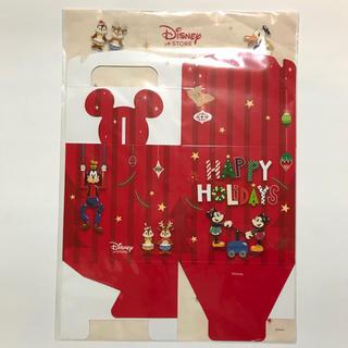 ディズニー(Disney)のディズニーストア オリジナル ギフトボックス ハッピーホリデー ミッキー ミニー(ラッピング/包装)