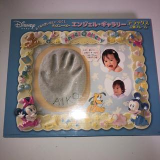 ディズニー(Disney)のディズニーベビーエンゼルギャラリーデラックス立体フレーム 未使用 ベビー手形(手形/足形)