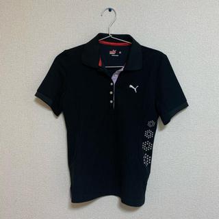 プーマ(PUMA)のレディース ポロシャツ プーマ ブラック(ポロシャツ)