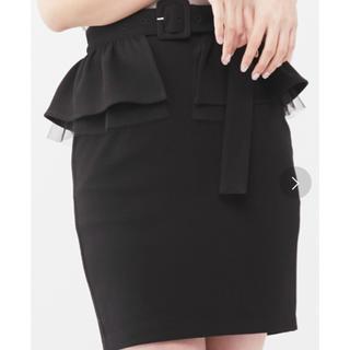 イートミー(EATME)のEATME ペプラムスカート(ミニスカート)