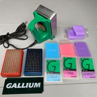 ガリウム(GALLIUM)のガリウム アイロン ワックス ブラシセット GALLUM(その他)