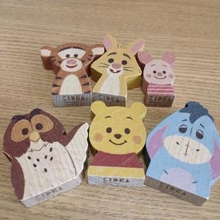 ディズニー(Disney)の【kuruhimarin*様専用】キディア KIDEA プーさんと仲間たち  (積み木/ブロック)