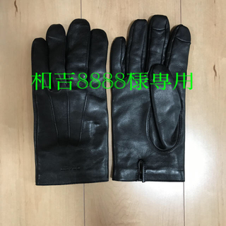 コーチ(COACH)の【新品未使用】【COACH】メンズ手袋(手袋)
