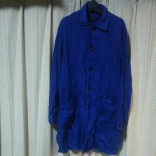 ザラ(ZARA)のZARA MAN ロング丈 シャツジャケット Sサイズ ザラ スプリングコート(その他)