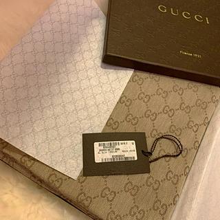グッチ(Gucci)のGUCCI 美品ストールショール GG総柄箱タグリボン付き(マフラー/ショール)